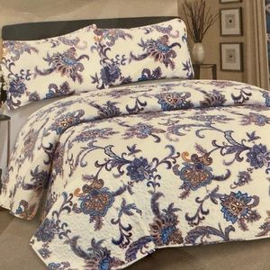 Hotel at home 3pc Quilt set King